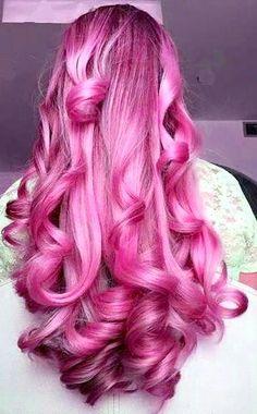 pink hair is always a good idea