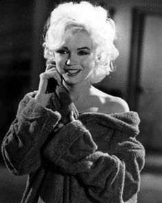 Marilyn Monroe photographed on the set of Something's Got To Give, 1962