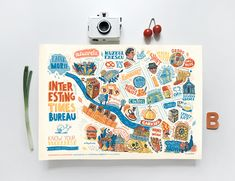 Design and Paper | Bucharest Tourist Map by SADDO…