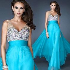 Beaded Chiffon Prom Dresses, Graduation Party Dresses,evening Dresses on Luulla Banquet Dresses, Event Dresses, Wedding Party Dresses, Chiffon Evening Dresses, A Line Prom Dresses, Homecoming Dresses, Dress Prom, Formal Gowns, Strapless Dress Formal
