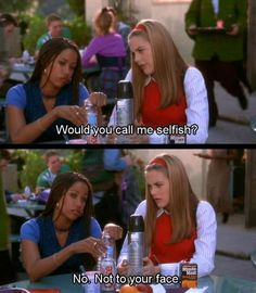 ImageFind images and videos about quotes, Clueless and dionne on We Heart It - the app to get lost in what you love. 90s Movies, Funny Movies, Great Movies, Movie Tv, Indie Movies, Movies Showing, Movies And Tv Shows, Clueless Quotes, Clueless 1995