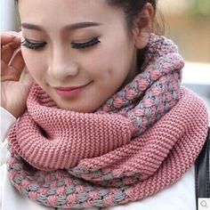 Como Hacer Bufandas De Moda Para Mujer