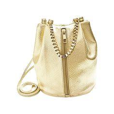 FGGS Hot ženy messenger tašky Fashion vědro řetěz Dámské Crossbody taška žena messenger tašky dámské kabelky zlaté