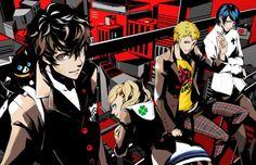 Akira, Ann, Morgana, Ryuji & Yusuke, Persona 5
