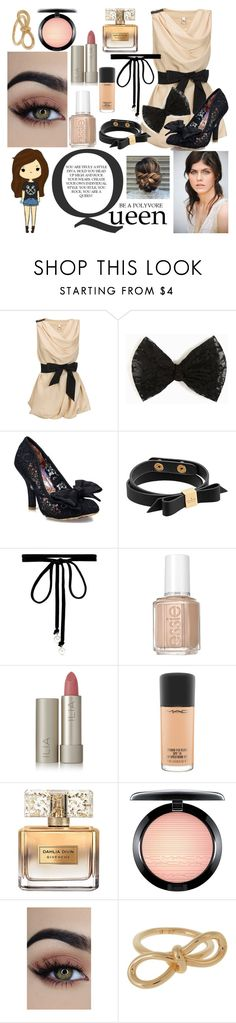 """Nude Is The New Pink"" by emmalineavery ❤ liked on Polyvore featuring Vero Moda, Irregular Choice, Kate Spade, Joomi Lim, Essie, Ilia, MAC Cosmetics, Givenchy and Balenciaga"