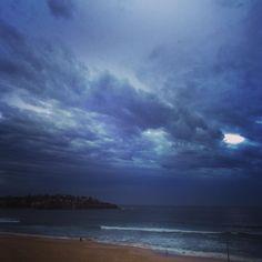 Blue overcast Sunrise #bondi #bondibeach #bondisunrise #beach #sea #surf #surfing #sand #sunrise #spring by aprillaq http://ift.tt/1KBxVYg