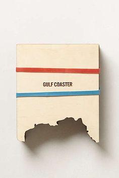 Anthropologie - Coast-To-Coast Coaster Set