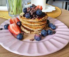 Ham, Pancakes, Drinks, Breakfast, Fitness, Recipes, Gymnastics, Beverages, Crepes