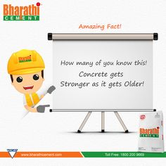 #Unbelievable Fact of #Concrete. Stay Tuned for more Intresting updates from us…