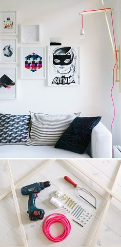 Inspiração: Pendente com fio colorido - Faça você mesmo!