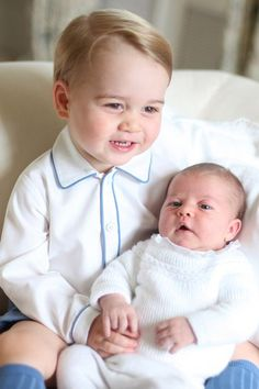 first official portraits or princess charlotte ... taken by mom, kate. (seriously.)