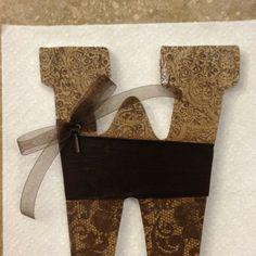 Wooden letter Decoration
