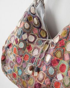 Sophie Digard crochet bag...Stunning work of art