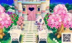 A tranquil sanctuary for Diana! You can visit her on the Happy Home Network by using this code (or the qr at the top of this post) 0796-7725-499