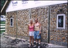 Building Green: Chapter 9 – Cordwood – The Nauhaus Institute