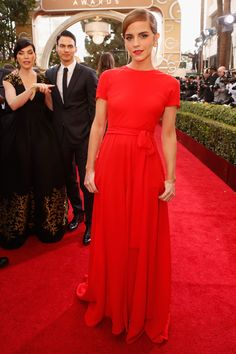 Attends the 71st Annual Golden Globe Awards in Beverly Hills