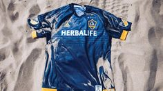 0918c8d0c1 Camisa reserva do LA Galaxy - Coleção de Camisas.com