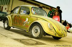 Turtle Racer Car Volkswagen, Vw Cars, Race Cars, Beetle Bug, Vw Beetles, Vw Modelle, Hot Vw, Bug Car, Cool Bugs