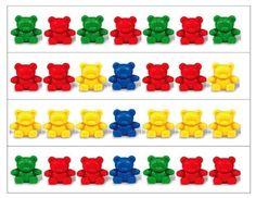 Teddy Bear Patterning Strips