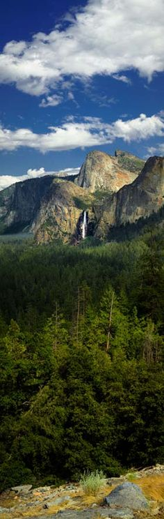 Bridal Veil Falls, Yosemite, California