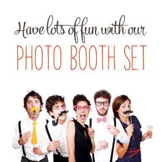 Photo Booth Set