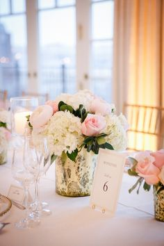 Featured Photographer: Laura Luis Photography; wedding centerpiece