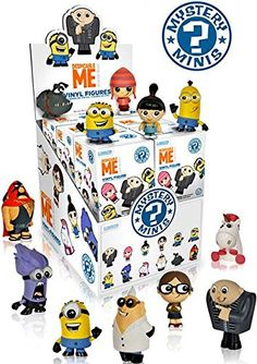 Despicable Me Mystery Minis Mini-Figure Display Box @ niftywarehouse.com