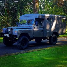 Landrover series 2a ambulance, Range Rover classic chassis, discovery 1 running gear, 200tdi with 300tdi manifolds #landrover #landroverseries3 #200tdi #4x4 #camper #rangerover #ambulance #landroverseries2a