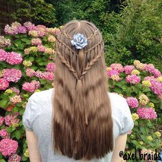 A chain link waterfall, waterfall twist and lace braid tieback. . #braid #braids #cute #pretty #hair #hairstyle #hairstyles #hairgoals #hairposts #cghphotofeature #cutegirlshairstyles #featuremejehat #ib_featureme #ab_feature #tinkerfeature #yiyayellowfeature #braidsforlittlegirls #braidsforgirls #sweetheartshairdesign #instibraid #instahair #hairsryles_for_girls #hotbraidsmara #inspirationalbraids #beyondtheponytail #waterfallbraid #lacebraid #braidgoals #waterfalltwist #chainlinkwaterfal...