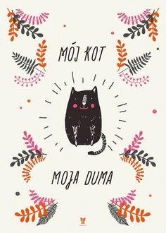 Plakat Mój kot