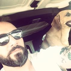 #me #mybeard #dog #ink