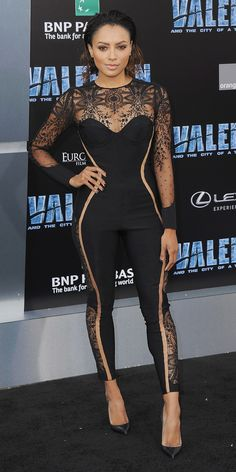 The Valerian Hollywood Premiere Had Just as Many Dazzling Looks asa Full-On Awards Show - Kat Graham from InStyle.com