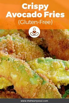 How to Make Crispy Avocado Fries (Dairy and Gluten-Free) #Avocadofries, #Avocadofriesrecipe, #Avocados