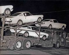 Mustangs arriving to become GT 350's Shelby Automobile Inc. Production Facility 3221 Carter Street, Venice, California
