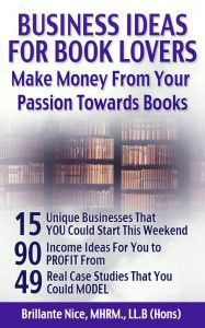 Business Ideas for Book Lovers by Brillante Nice.