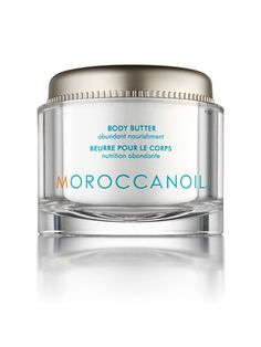 This insanely thick, concentrated cream is a blend of argan and olive oil, vitamins, and cocoa butter that will soothe skin and improve elasticity. If you're looking for serious moisture, this is the ticket! $52; moroccanoil.com