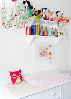 organized baby room
