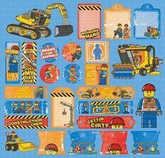 Construction CS LEGO Stickers