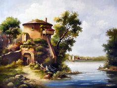 живопись голландских мастеров пейзажи: 7 тыс изображений найдено в Яндекс.Картинках Traditional Art, Painting, Image, Painting Art, Paintings, Drawings