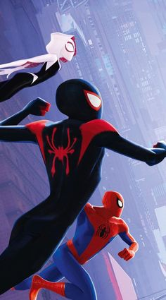 Miles Morales - Ultimate Spider-Man, Into the Spider-Verse Marvel Comics, Marvel Art, Marvel Heroes, Marvel Characters, Marvel Avengers, Comics Spiderman, Ms Marvel, Captain Marvel, Spiderman Spider
