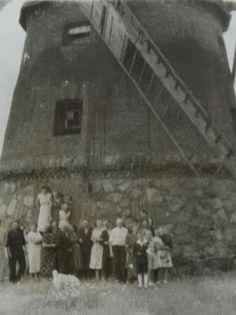 Wiatrak w Bracholinie, lata 50-te  XX wieku