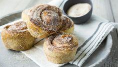 Sukkerboller med ekstra krydder Fika, Food Inspiration, Muffin, Breakfast, Recipes, Pies, Morning Coffee, Muffins, Food Recipes