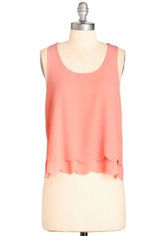 Bright at the Museum Top, #ModCloth