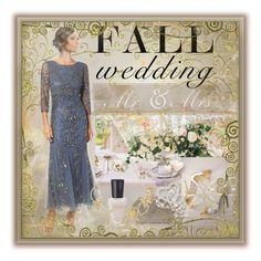"""Fall Wedding Fashion in Blue"" by shadow-dancer-artist ❤ liked on Polyvore featuring fallwedding"