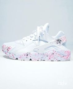 White Huaraches| Custom Made