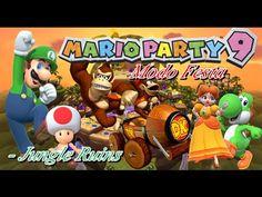 Mario Party 9: Mapa Jungle Ruins - Troy vs Esposa