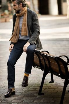 Men's fashion Fall style Fall dress shoes for him: Allen Edmonds Oxfords Mens Fashion Blog, Mens Fashion Suits, Fashion Moda, Men's Fashion, Fashion Ideas, French Fashion, Urban Fashion, Street Style Outfits, Look Street Style
