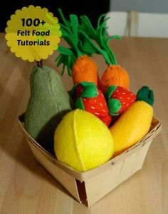 100+ felt food tutorials from Apartment Therapy