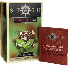 Chocolate Mint Wuyi Oolong Tea, 18 Bag(s) AED120.00 #UAESupplements