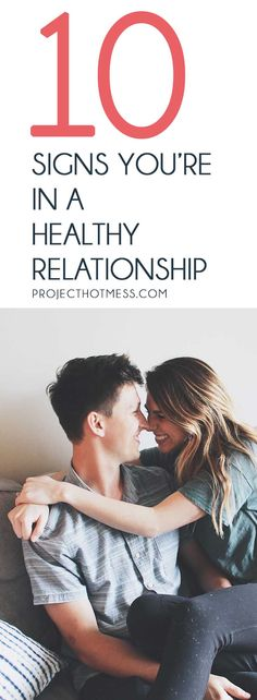 Relationships are hard work, and for some of us we can get stuck in a toxic relationship. But how do you know when you're in a healthy relationship instead? Here are some of the most obvious, but sometimes overlooked, signs that you're in a healthy relationship! Relationships | Relationship Goals | Happy Relationships | Marriage | Happy Marriage | Marriage Goals | Married Life |